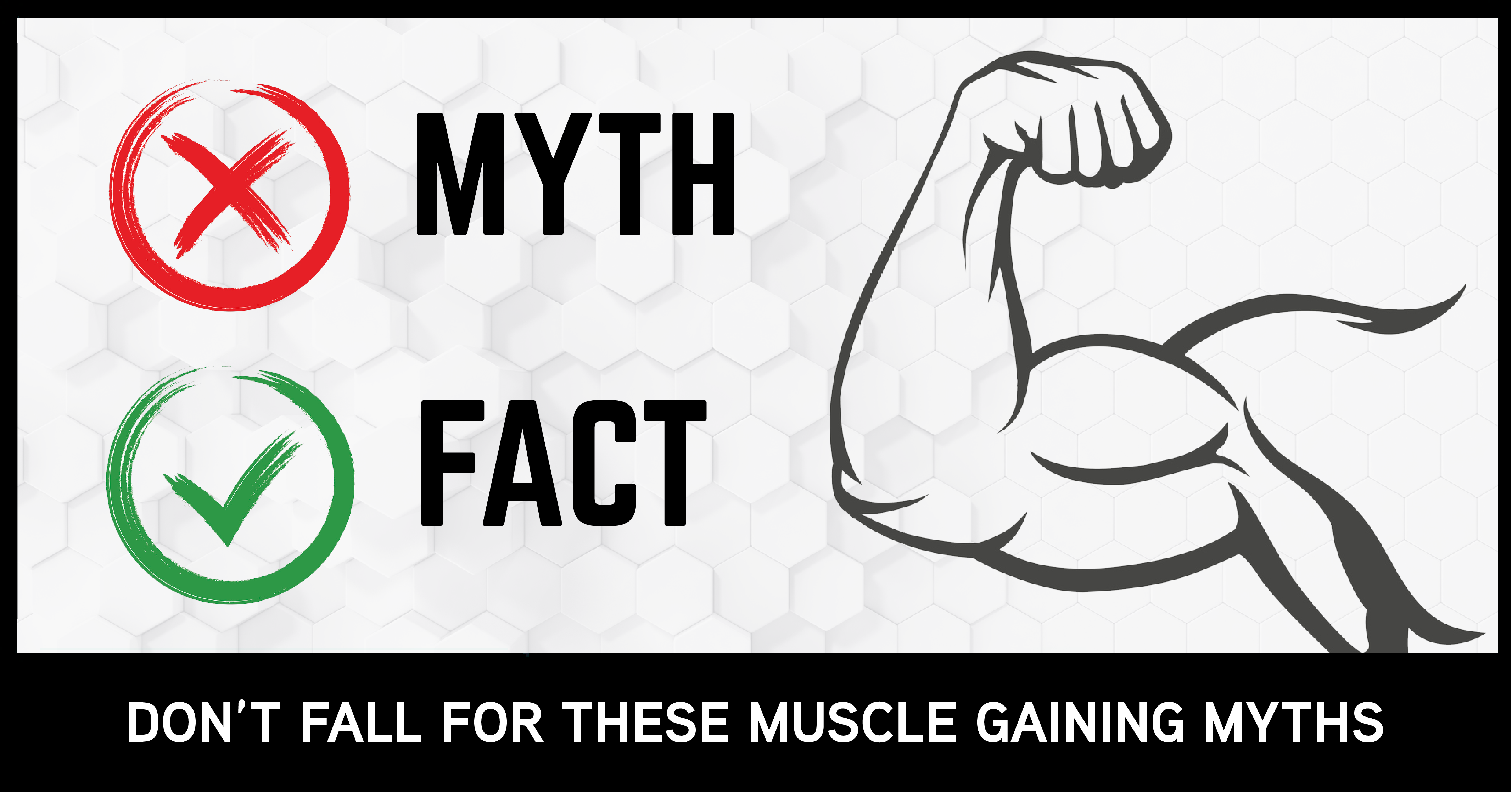 9 Common Myths About Gaining & Building Muscle