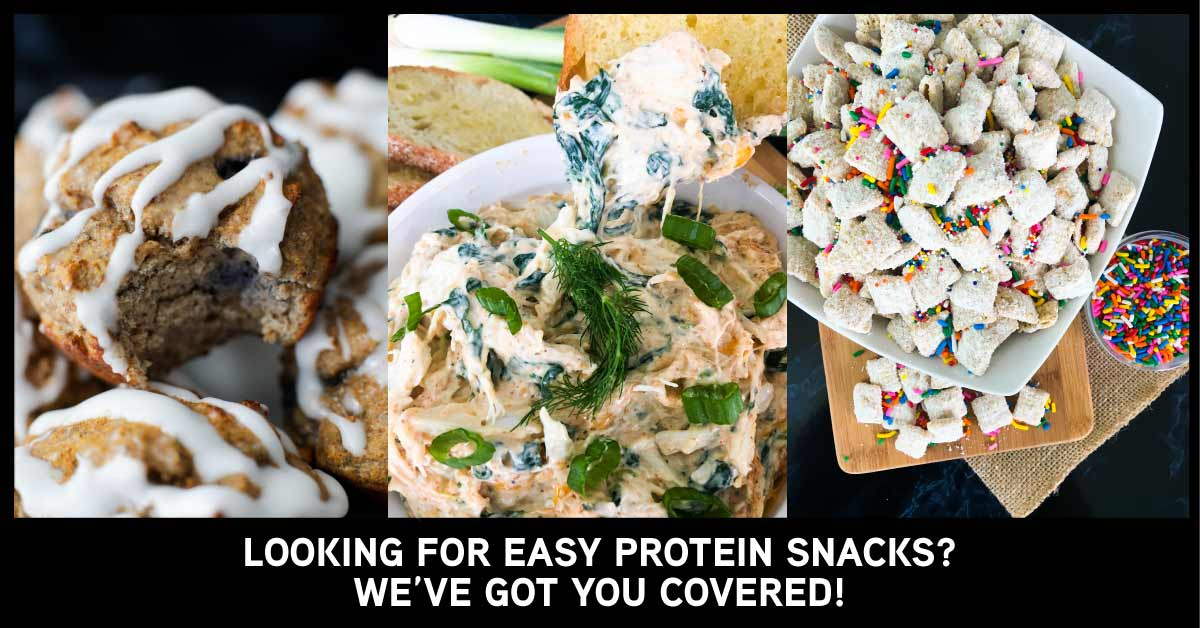10 Ideas for Easy Protein Snacks